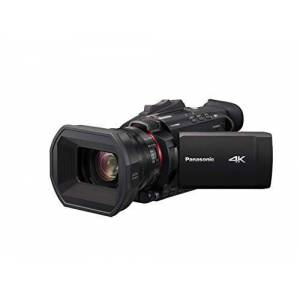 Panasonic HC-X1500E 4K camcorder (4K video, camera met gezichtsherkenning, Leica lens, 25mm groothoek, 24x optische zoom, professionele videocamera)