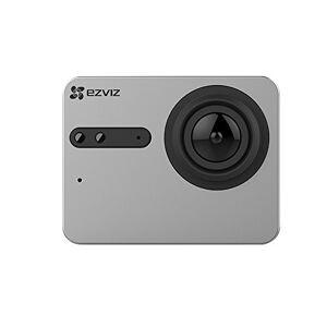 ezviz S5Sports camera, resolutie 4K/12.5fps (PAL) of 15fps (NTSC) of Video fullhd, foto 's tot 16megapixels, Display Touchscreen, Wifi en Bluetooth 4.0met synchroniseren Helder licht, tas Waterproof en Media sticker-bevestigingstechniek, zwart