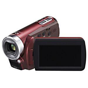 Panasonic SDR-S15verwijderd EG-S SD-Camcorder (SD/SDHC-Card, 103-voudig Opt. Zoom, 6,9cm (2,7inch) Display, beeldstabilisatie), bordeaux