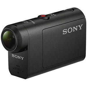 Sony HDR-AS50 Action Camera met 60m waterdichte behuizing, 3-voudige zoom, SteadyShot en Wi-Fi + Ultra Compact tas voor mobiele telefoon, zwart