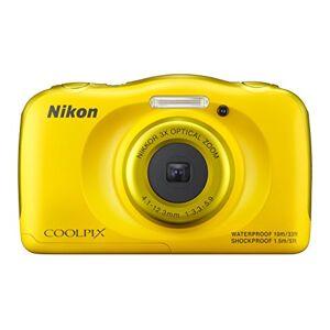 Nikon COOLPIX S33digitale camera (13,2Megapixel, 33-voudig Opt. Zoom, 6,9cm (2,7inch) LCD-Display, USB 2.0, beeldstabilisatie,) Geel