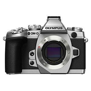 Olympus OM-D E-M1 Systeemcamera-behuizing, 16,3 megapixels, 7,6 cm (3 inch), Live MOS sensor, LCD-display, flitsschoen, video functie, Bluetooth, Wi-Fi, zilver