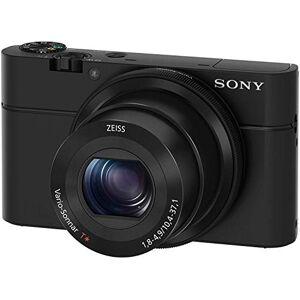 Sony DSC-RX100Cyber-Shot Digitale camera, 20megapixels, 3,6-voudige optische zoom, display van 7,6cm (3inch), heldere 28-100mm-zoomlens, F1.8–4,9, Full HD, beeldstabilisatie, zwart