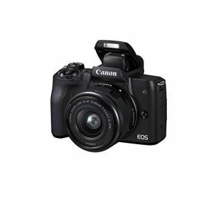 Canon EOS M50 spiegelloze systeemcamera (24, 1 MP, draai- en zwenkbaar 7,5 cm (3 inch) touch-LCD, 4K video, OLED Evf, WiFi, Bluetooth) + EF-M 15-45 mm is STM + EF-M 22 mm F/2 STM Kit