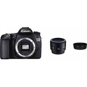 Canon EOS 70D Digitale spiegelreflexcamera, 20 megapixel, APS-C CMOS-sensor, 7,6cm-display (3 inch), full-HD, wifi en DIGIC 5+ processor, 1:3,5:5,6 IS STM, zwart