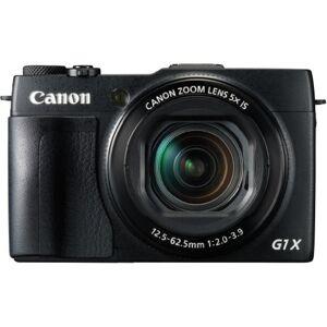 Canon PowerShot G1X Mark II digitale camera (12,8 MP, CMOS sensor, 5-voudige optische zoom, 1:2-3, 9, 24 mm groothoek, Full-HD) zwart