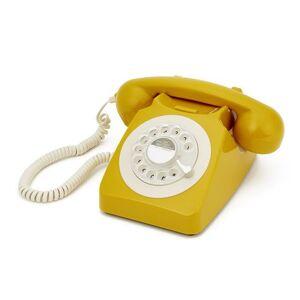 GPO–746Retro rotary DIAL Phone in Mustard