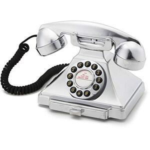 GPO klassieke Bakelit telefoon 20-delig ontwerp, One-size, chroom