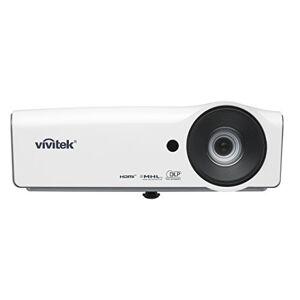Vivitek DW832, sterke LED projector met 1,5-Zoom, contrastverhouding 15.000: 1, 5000lumen, 1280x 800Pixels, HDMI/MHL aansluitmogelijkheden, wit grijs, wit