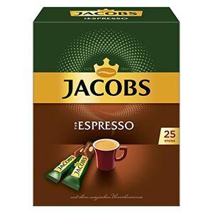 Jacobs Type Espresso, oploskoffie, oploskoffie, Instant koffie, 25individuele porties