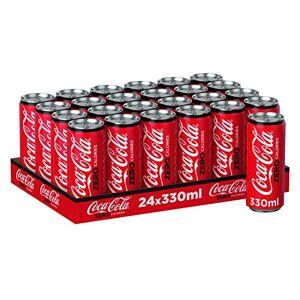 Coca-Cola Coca Cola Zero, 24er Pack (24 x 330 ml) (ohne Pfand, Lieferung nur nach Österreich)