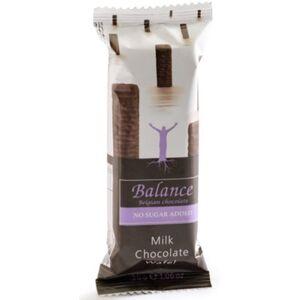 Balance Waffeln mit Michschokolade, Ohne Zuckerzusatz (1 x 30 g)
