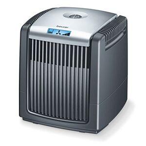 Beurer LW 220 luchtwasser en luchtbevochtiger in één unit / zeer energiebesparende luchtreiniger met een maximum van 7 watt aan vermogen / luchtwasser geschikt voor ruimtes tot 40 m² / gemakkelijk te reinigen / zwart