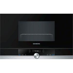 Siemens BE634LGS1 iQ700 magnetron, 900 W, 21 l ovenruimte, LED-binnenverlichting, roestvrij staal