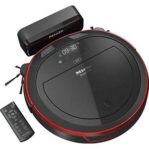 Miele Scout RX2 Home Vision Robotstofzuiger, voor elke vloer, robotstofzuiger met app-bediening, tot 2 uur accuduur, robotstofzuiger inclusief Smart navigatie)., -, zwart/rood