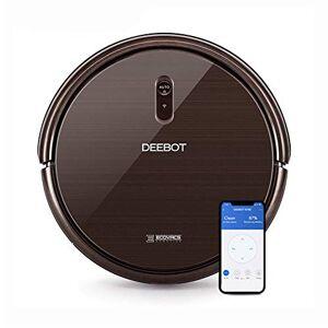 Ecovacs Robotics Deebot N79S Krachtige robotstofzuiger met Max-modus, app- en Alexa-bediening, 25 watt, brons metallic