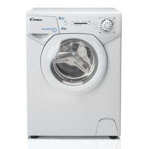 Candy AQUA 8351d wasmachine FL/A/147kWh/jaar/80078-toeren/3,5kg/5800L/jaar/alleen 44cm diep/alleen 69,5cm hoog/zilver