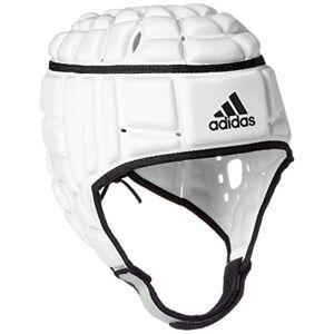 Adidas heren rugby hoofdbescherming helm, wit, M
