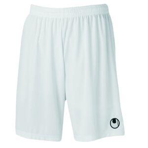 Uhlsport Center Basic II Shorts voor heren, zonder binnenslip, wit, l
