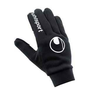 Uhlsport mannen veldspeler handschoenen heren, zwart, zwart, 8