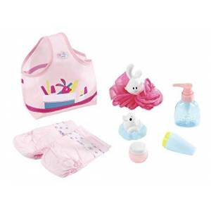 BABY Born Zapf Creation 823606 BABY born Wash & Go badset poppenaccessoires, 8-delig