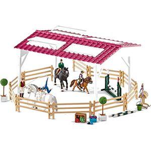 SCHLEICH 42403 Reitschule mit Pick-up und Anhänger Horse Club
