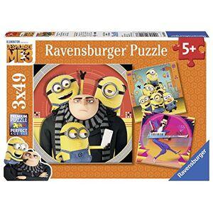 Ravensburger 08016–avonturen met de Minions kinderpuzzle