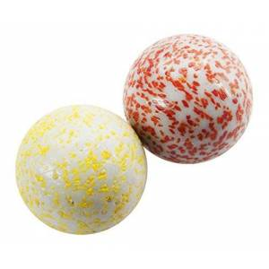 King Great Gizmos King Marbles Cosmics Awesome Ally Marbles (White) - 2 x 45 mm