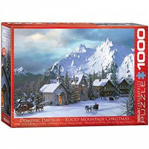 EuroGraphics Rocky Mountain Christmas 1000 PC puzzel, 6000-0426: Davidson, Dominic