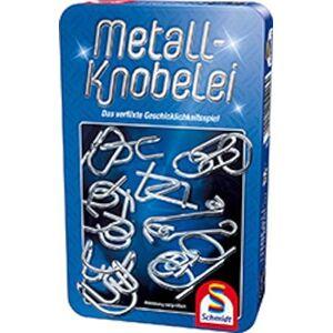Schmidt Spiele Schmidt Games 51206Metaal-knobelei in mooie metalen doos