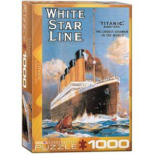 Eurographics puzzel, Titanic, White Star Line (1000 delen)