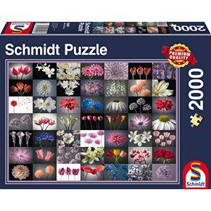 Schmidt Spiele Schmidt Games 58297blumengru, puzzel, 2000onderdelen