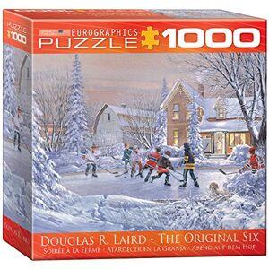 Eurographics puzzel 1000 Pc - The Original Six (8x8 box) NIEUW (MO) (EG80000612)