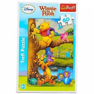 Trefl 17264 - Puzzle, Disney Winnie The Pooh, Das kleine Etwas, 60 Teile
