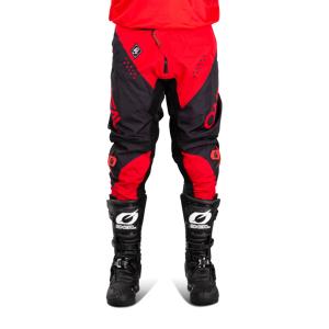 O'Neal Broek O'Neal Element Racewear Zwart-Rood  - Zwart