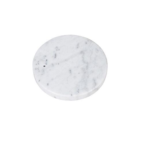 QAZQA Marmeren voet wit - Booglamp XXL
