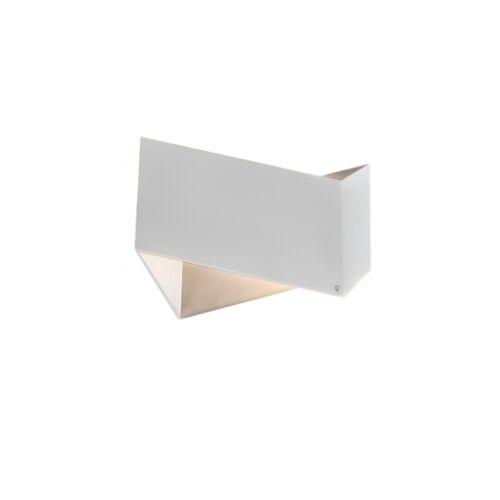 QAZQA Set van 2 design wandlampen wit - Fold
