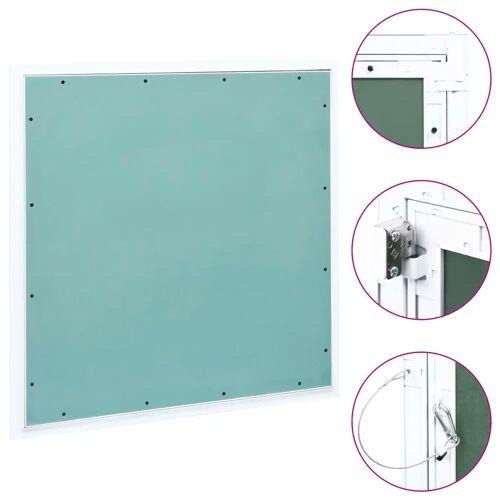 vidaXL Toegangspaneel met aluminium frame en gipsplaat 700x700 mm