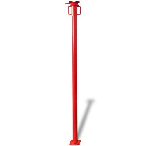 vidaXL Stempel 280 cm rood