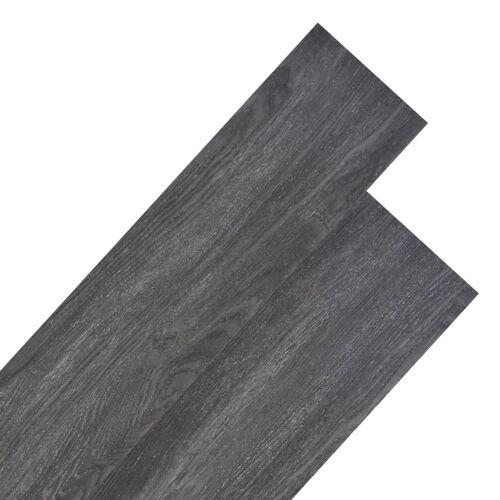 vidaXL Vloerplanken 4,46 m² 3 mm PVC zwart