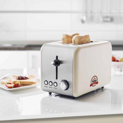 Bestron Broodrooster met broodjeswarmer ATS200RE 850 W wit