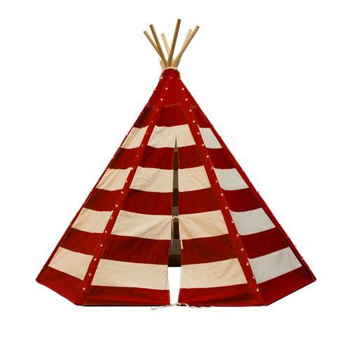 Sunny Tipi tent Lumo met LED rood en wit C052.103.05