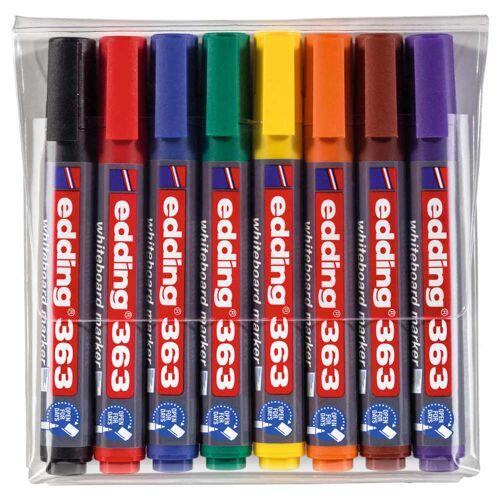 edding Whiteboardmarker 8 st meerkleurig 363