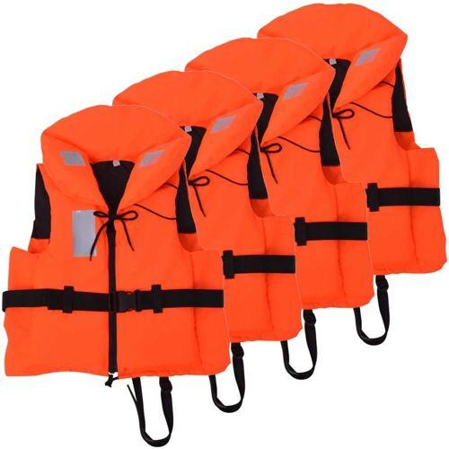 vidaXL Zwemvesten 100 N 40-60 kg 4 stuks