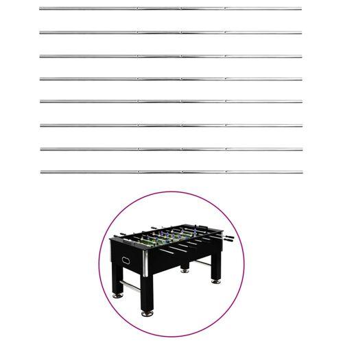 vidaXL Staven voor voetbaltafel 8 st 15,9 mm