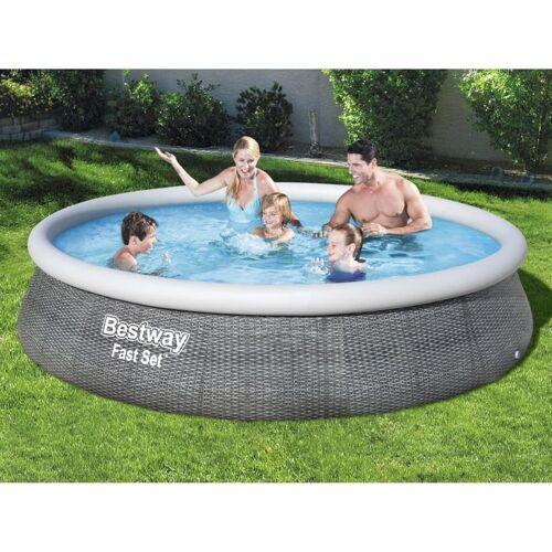 Bestway Zwembadset Fast Set met pomp opblaasbaar 396x84 cm