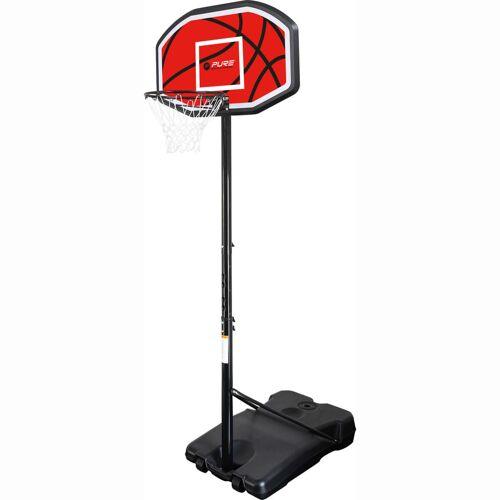 Pure2Improve Basketbalstandaard verplaatsbaar 110x71 cm