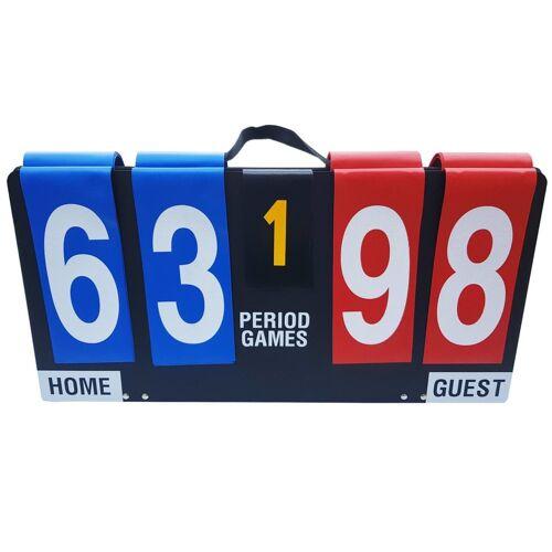 GUTA Scorebord draagbaar/inklapbaar hardboard