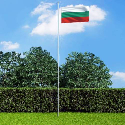 vidaXL Vlag Bulgarije 90x150 cm