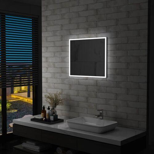 vidaXL Badkamerspiegel LED 60x50 cm